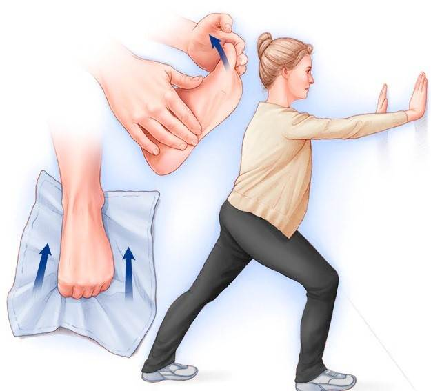 تمرین عضلات پا